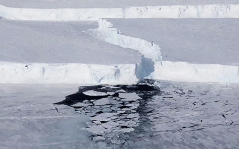 Tảng băng trôi 225 km² tách khỏi Nam Cực