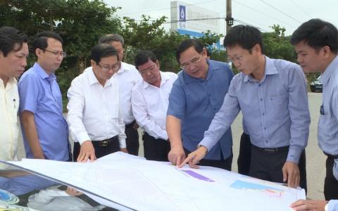 Kiểm tra tiến độ thực hiện dự án Khu công nghiệp phục vụ nông nghiệp