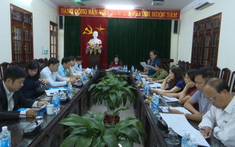 Giám sát việc thực hiện nhiệm vụ năm 2018 của  BHXH tỉnh