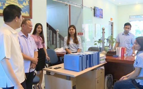 Kiểm tra hoạt động của Quỹ Tín dụng nhân dân Bình Minh