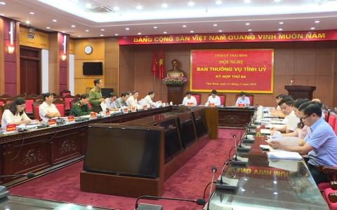 Hội nghị BTV Tỉnh ủy Kỳ họp thứ 64