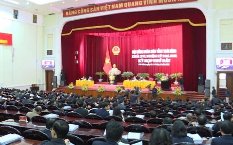Khai mạc Kỳ họp thứ 7, HĐND tỉnh Khóa 16