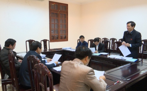 Thảo luận tổ trước Kỳ họp thứ 7 HĐND Tỉnh khóa XVI