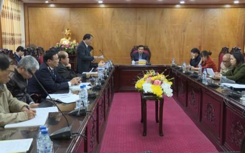UBND tỉnh làm việc với các doanh nghiệp có hợp tác kinh doanh tại thị trường Liên Bang Nga