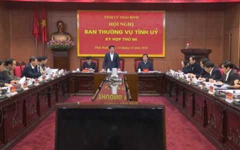 Kỳ họp thứ 66 Hội nghị Ban Thường vụ Tỉnh ủy: Tự phê bình và phê bình trong Ban Thường vụ