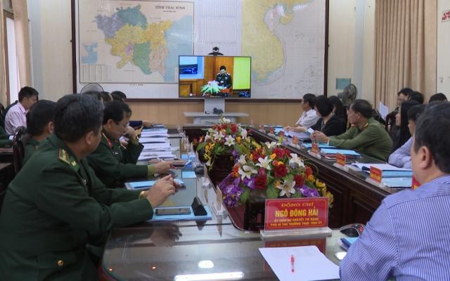Hội nghị trực tuyến Toàn quốc Tổng kết 20 năm thi hành pháp lệnh Bộ đội biên phòng.