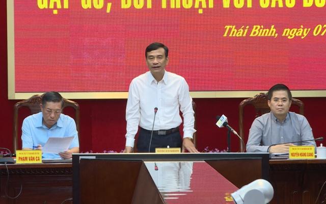 Hội nghị bàn giải pháp tháo gỡ khó khăn, vướng mắc của doanh nghiệp trên địa bàn tỉnh năm 2018.