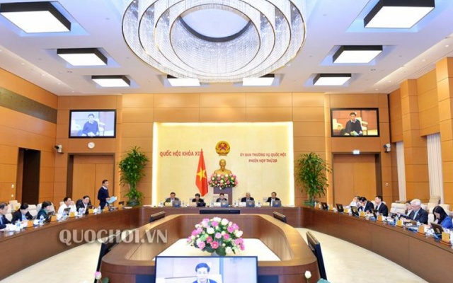 Ủy ban thường vụ Quốc hội thông qua dự thảo Nghị quyết ban hành quy chế hướng dẫn tổ chức và hoạt động của Hội đồng nhân dân