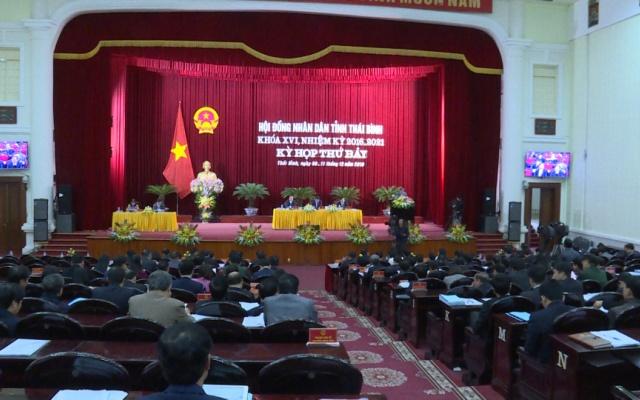 Ngày làm việc thứ 2 Kỳ họp thứ 7 HĐND tỉnh Khóa XVI : HĐND tỉnh tiến hành thảo luận